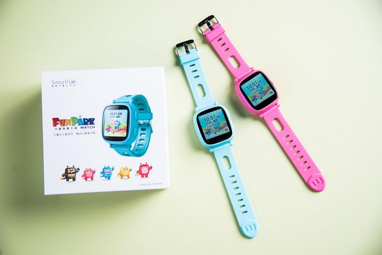 錶帶顏色走的是可愛風,非常適合小朋友配戴。