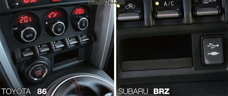在音源擴充部分86將USB插槽整合至音響主機上。
