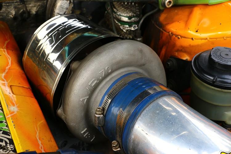 渦輪選擇可以對應到500hp的HKS 3404渦輪。