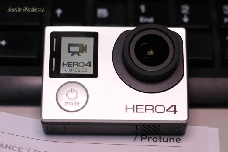 目前最新的韌體版本是HERO4 Silver v01.02.00,使用者隨時可以上GoPro的網頁查詢。