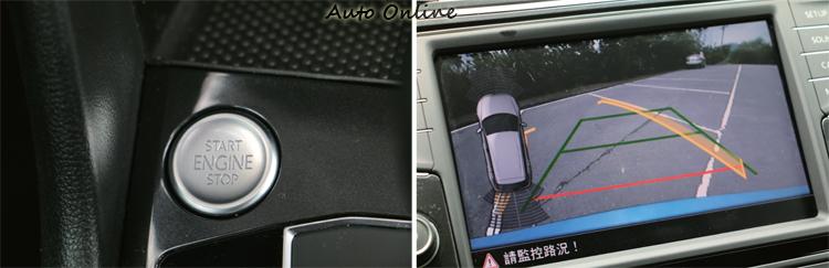 倒車顯影停車導引系統以及Keyless免鑰匙系統都是台灣消費者喜愛的行車配備。