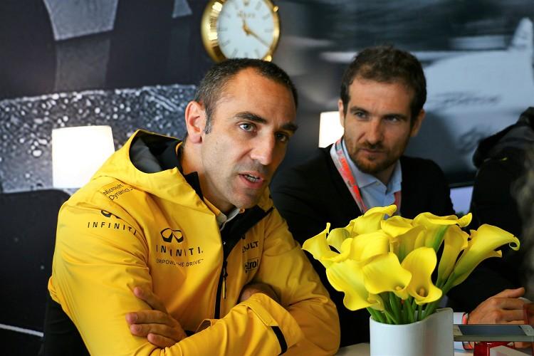 Renault Sport總裁Cyril Abiteboul是Q60 PROJECT Block S概念車主要決策者之一。