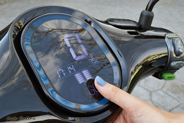 啟動鍵改為觸控式,帶手套依然可以操作。