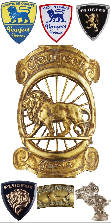 獅型一直都是Peugeot的經典徽飾主題,早年因為公司以製造鋸片為主業,據稱是取其鋒利獅齒的特性,後來才註冊成為汽車的商標。至於盾型造型也是歷史悠久,因此全新廠徽恢復盾型標誌也有傳承血統的意涵。