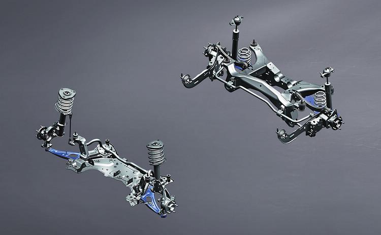 Kuga除原本就有的後鋁合金下控制臂之外,新年式又導入含前鋁合金下控制臂的升級。