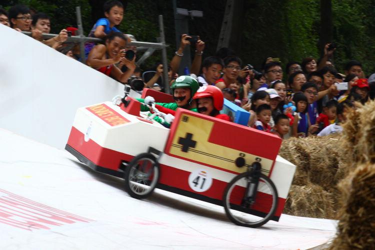 正港「蓋營養紅白機」來囉!這是Monkey Boys製作的#41參賽車