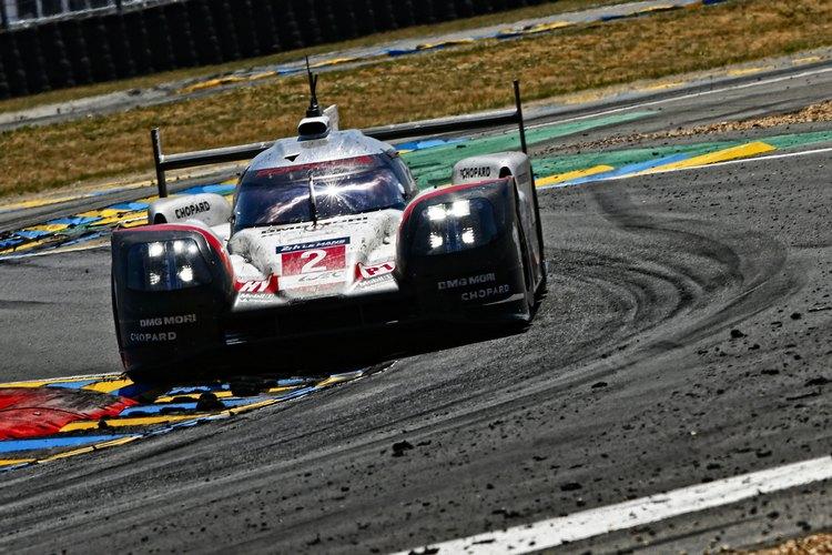 2號保時捷賽車最後成了車隊保住冠軍的希望,也粉碎了LMP2拿下利曼總冠軍的夢想。