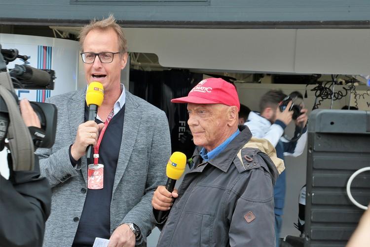 賽車傳奇人物Andreas Nikolaus