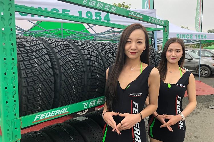 台灣品牌飛達輪胎有針對拉力賽推出適合各種路況的拉力賽。