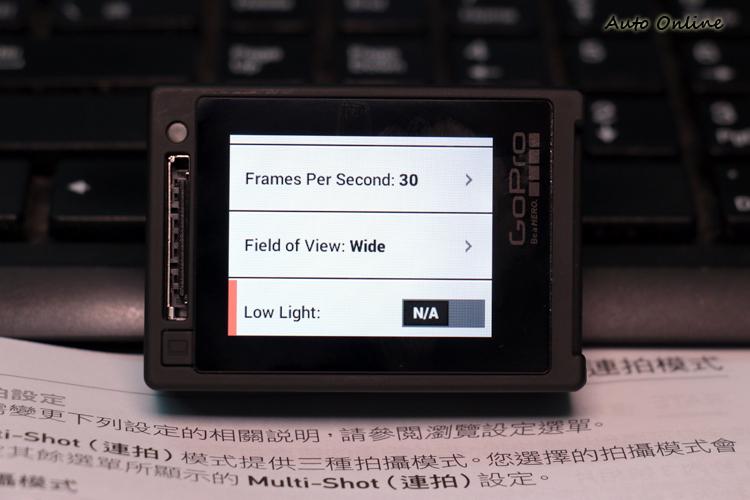 更新之後LowLight模式被鎖定在48fps與60fps之間,低於這兩個幀數將無法開啟。