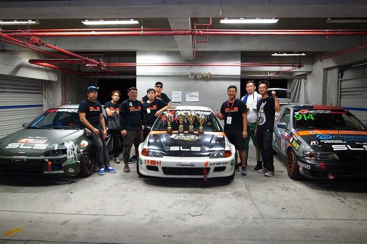 今年與高雄新立陞及Gino's Work兩家車廠合作,就是希望在比賽時車輛能有最佳狀態。