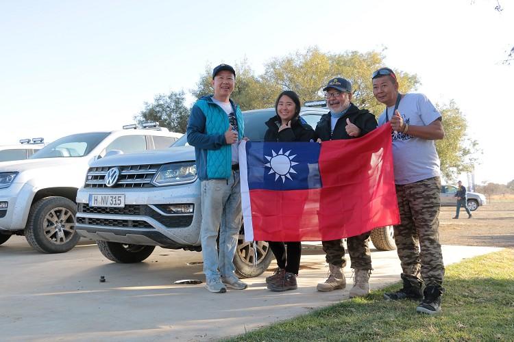 2019年台灣隊代表由洪國賓、Kiki Kung、Robin Kung以及蘇從文(左至右)所組成。
