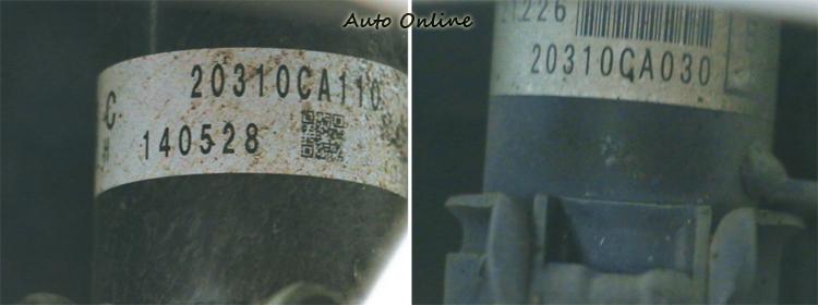 再深入研究後我們發現兩者避震筒料號相似,查詢國外網站疑似為同一型號的避震器。