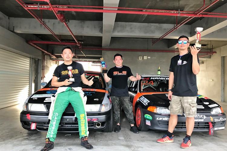 新立陞車隊在老闆凱胤的帶領下,拿下TTCC B1組亞軍、新手賽最穩定亞軍及總成績季軍的佳績。