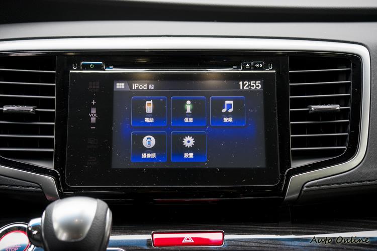 中控台維持配備七吋觸控螢幕。