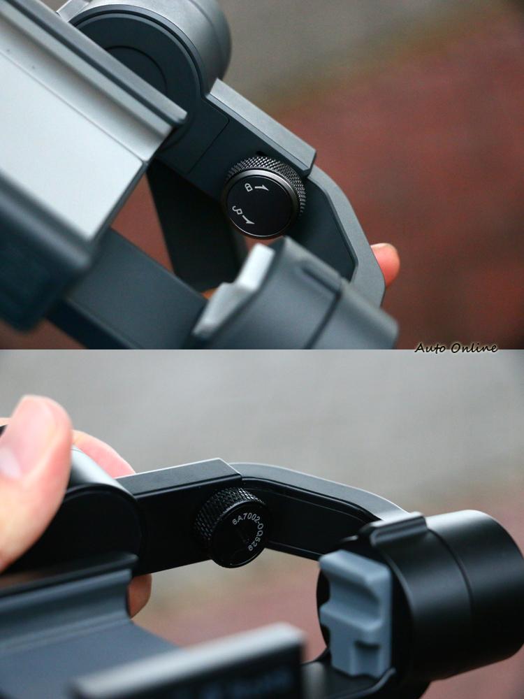 兩款穩定器接採用伸縮拉桿進行平衡。