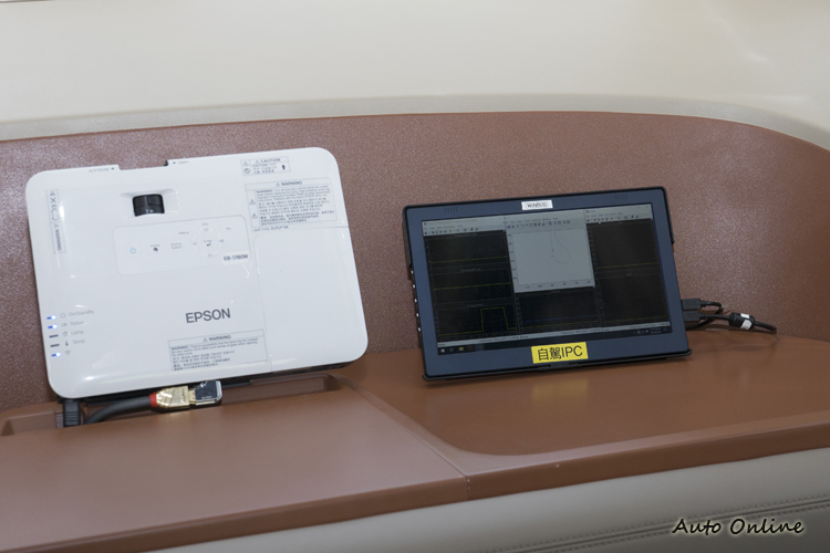 負責運算決定車子行動的IPC自駕控制器。