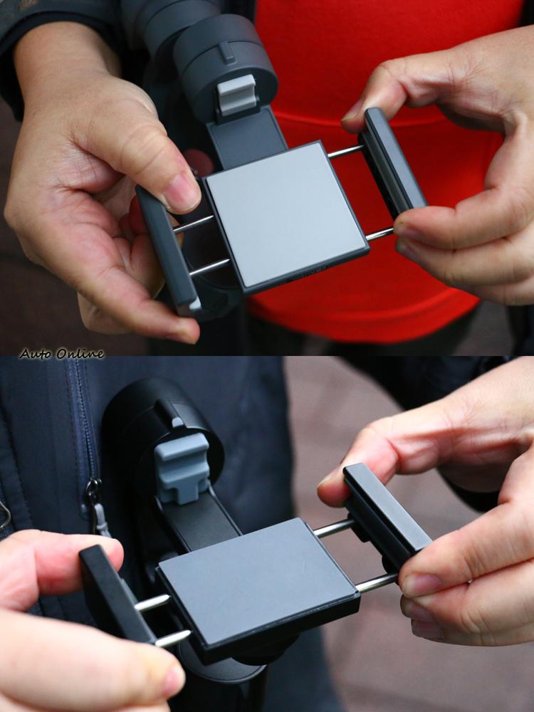 夾具大小皆試用六吋以下手機。