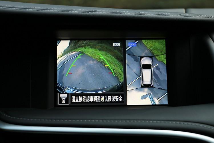 AVM 360度環景顯示系統,建構出全面性的安全防護。