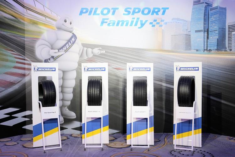 新成員Pilot Sport 4 S加入,定位將放在Pilot Sport 4與Pilot Sport Cup 2中間。