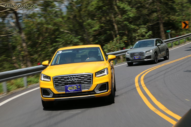 Q2全車隨處可見突破性的設計,譬如八角形水箱罩就不是一般Audi慣用設計。