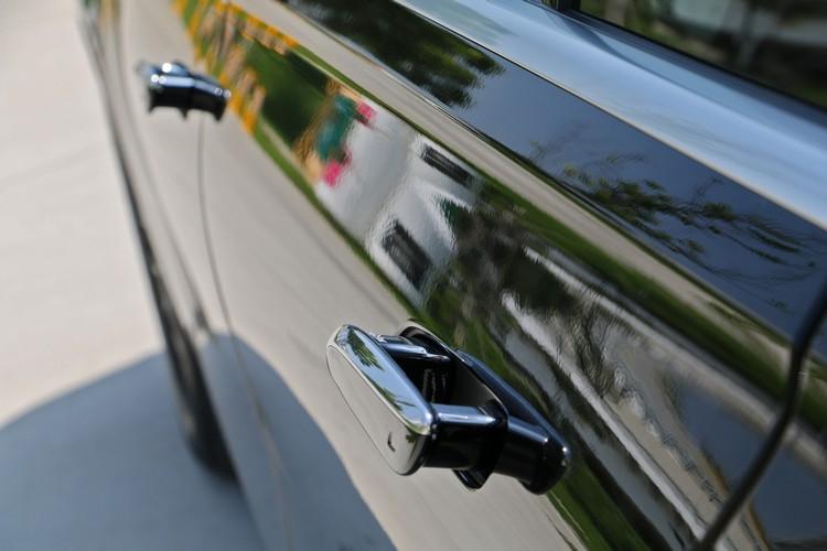 隱藏式車門把有降低風阻的作用,不過使用時不如傳統設計就手。