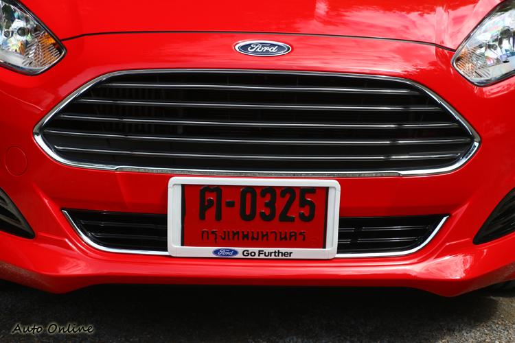 前保桿與氣壩造型有點類似007專屬跑車品牌,但福特設計人員不這麼認為!