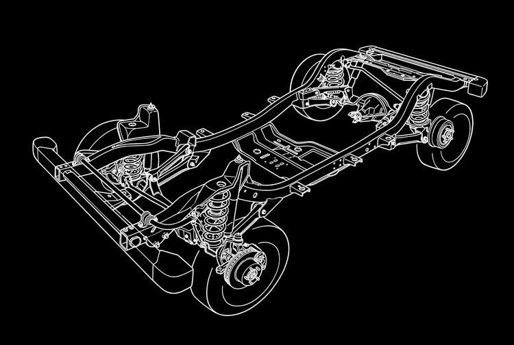 這款車堪稱現代越野車的始祖,它的底盤及傳動設計方式成為眾家車廠模仿的對象。