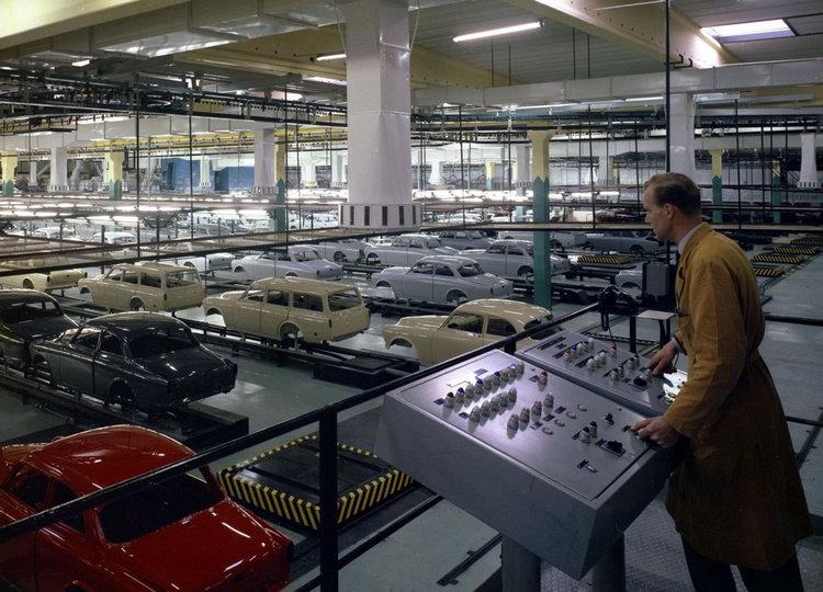 Amazon是VOLVO第一款在海外生產的車型,現代化的生產線,也協助VOLVO如願成為瑞典最暢銷的汽車品牌。