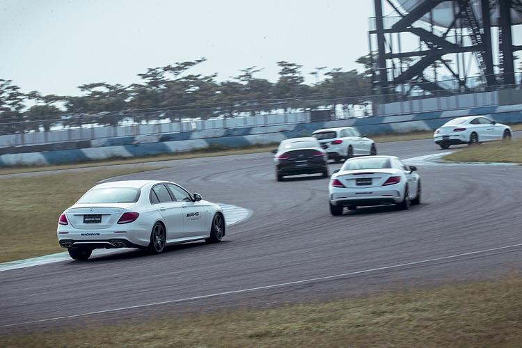 每個人的開車風格和對於車輛的掌握程度,只要開上賽道,就很容易會原形畢露。