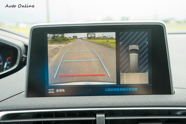 全景視覺駐車輔助在1.6L車型是列為選配。
