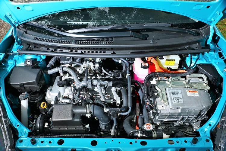 電動馬達可以提供61hp最馬力與17.2kgm最大扭力,使得瞬間爆發出綜合101ps的馬力。
