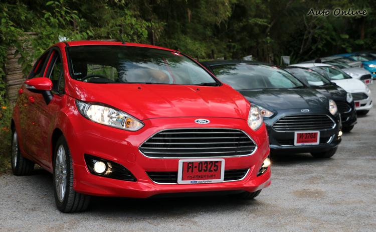 小針美容後的Fiesta,有別於以往小車的氛圍。