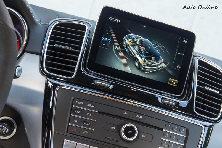 Sport+模式下,車身會適時自動降低,同時監控加速與側向G值,隨時提供最佳化的懸吊阻尼。過彎輔助系統也會主動調整防傾桿的扭力,減少過彎側傾。