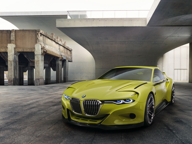 经典的竞技味!  BMW 3.0 CSL Hommage「轻轻」现身