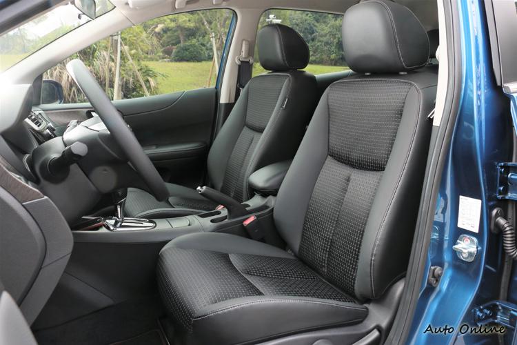 Nissan獨家專利3D紓壓座椅,能夠全面支撐背部、腰椎和骨盤,有效降低乘坐疲勞感。