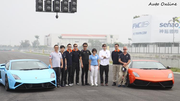 除了原廠資深教練外,台灣也有知名車手盧政義與林帛亨到場與媒體交流。