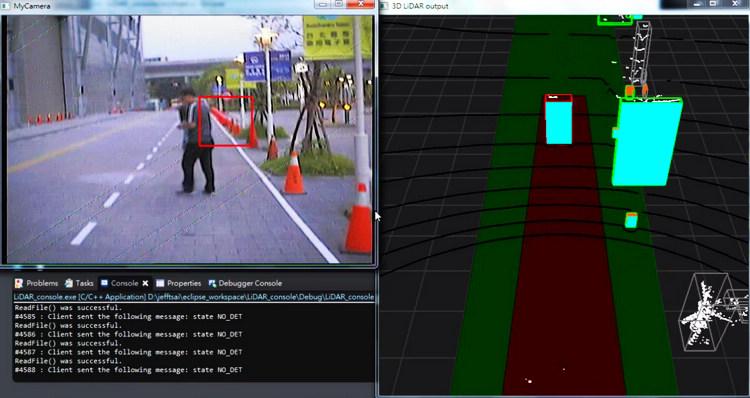 透過遠距浮空HUD技術,將行車資訊以浮空影像方式投射在駕駛視線前方2公尺處,同時顯示導航地圖、環車影像、車況資訊等三種畫面。
