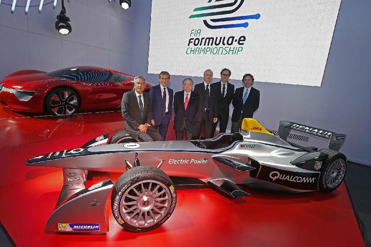 由四屆一級方程式賽車冠軍Alain Prost領軍的e.dams。