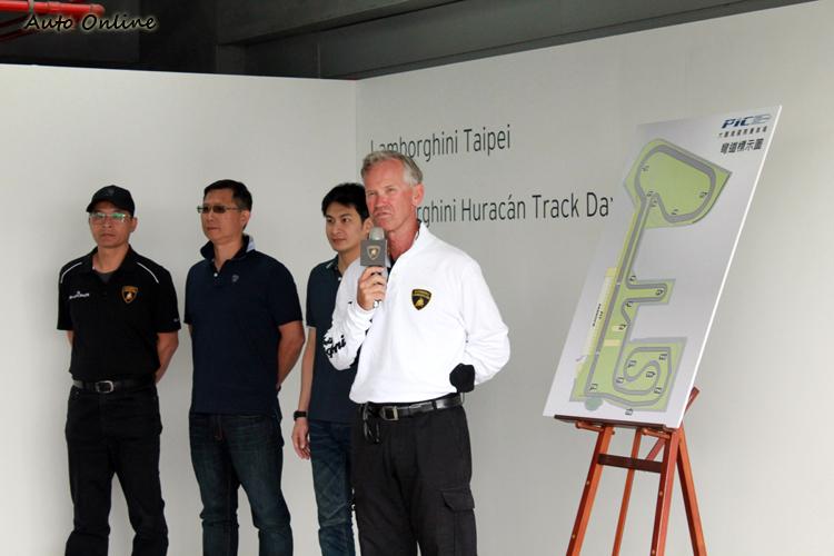 義大利原廠首席指導教練Peter Muller帶領陳文閣、盧政義、林帛亨,組成本活動的教練團。