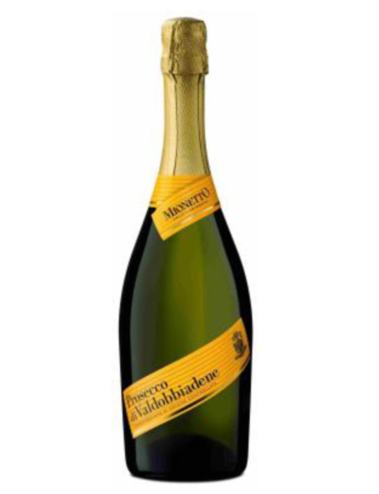 米娜多黃牌普羅塞克氣泡酒,建議售價890元。