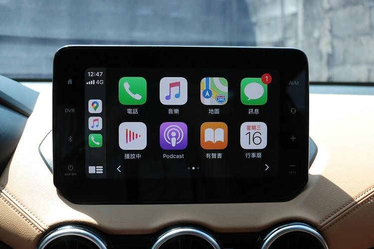 國產車唯一無線Apple CarPlay連接。