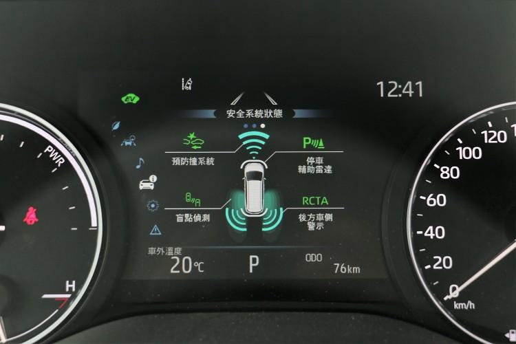 標配TSS 2.0智動駕駛輔助系統,擁有ACC全速域主動式車距維持定速系統(含Stop & Go)。