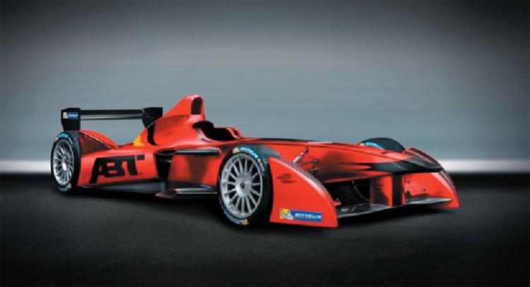 來自德國DTM常勝軍的AUDI  Sport ABT。