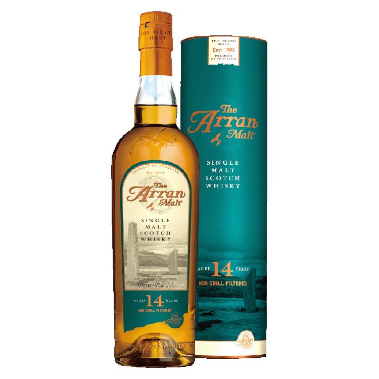 英國愛倫14年Non-Chillfiltered單一麥芽蘇格蘭威士忌 0.7L