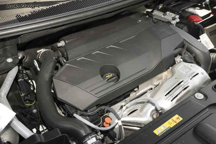 1.6升汽油渦輪引擎提供180hp最大馬力。