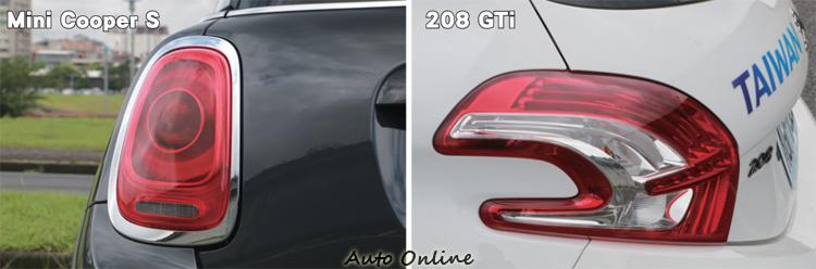 在燈組設計上來自法國的208 GTi展現強大的設計能量,在造型上格外引人目光。