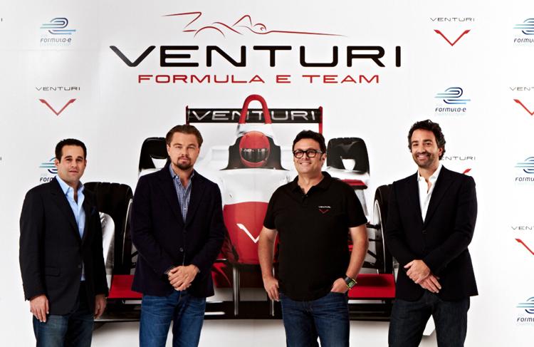 有著巨星Leonardo DiCaprio李奧納多·迪卡皮歐光環加持的Venturi Grand Prix。