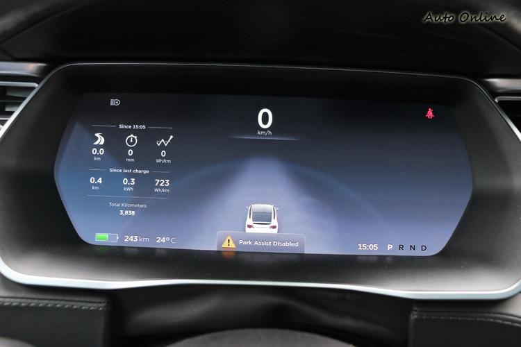駕駛者前方的儀表板一樣被螢幕給取代,透過螢幕來顯示能更多元化。