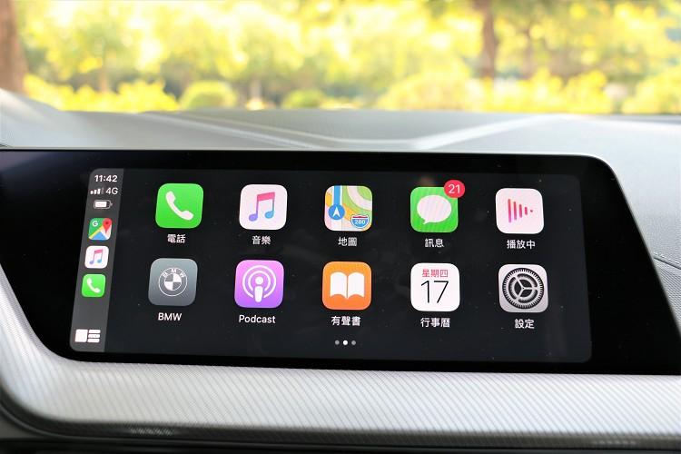 無線Apple Carplay屬標準配備。